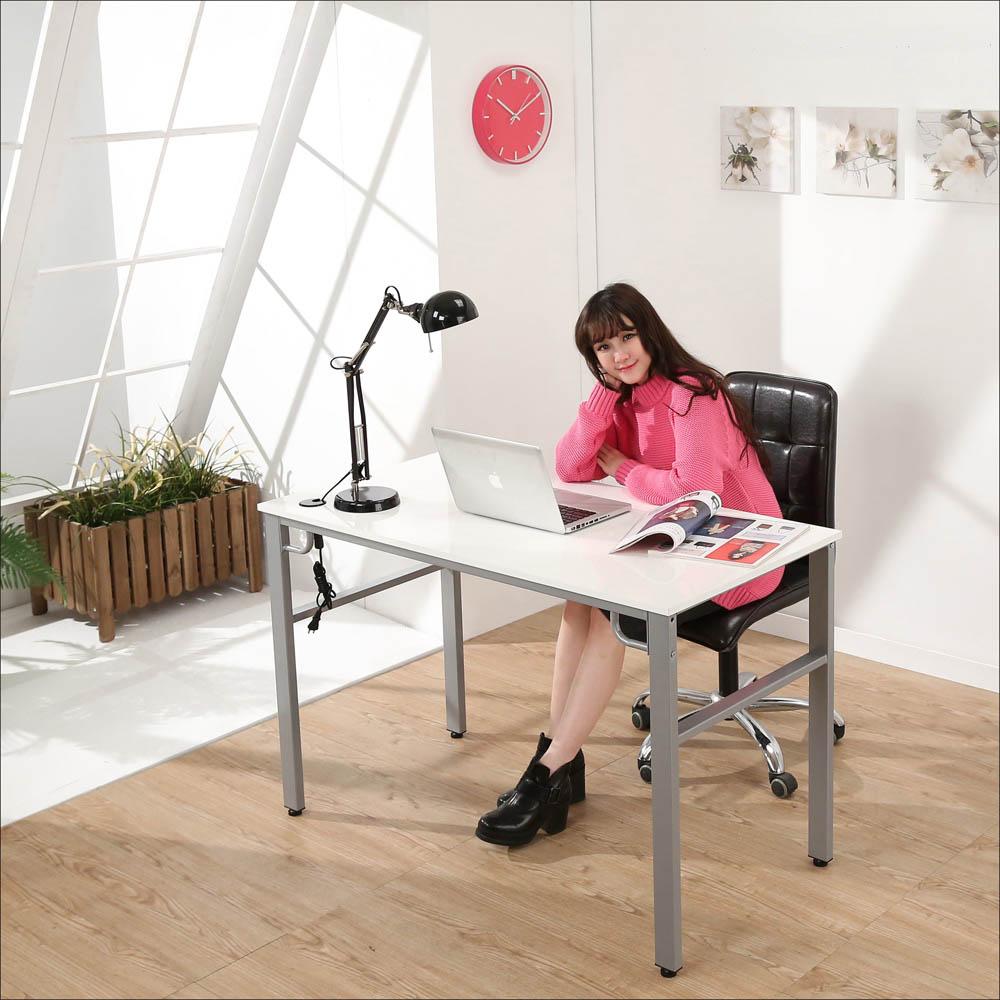 BuyJM 鏡面環保低甲醛穩重型工作桌-寬120公分