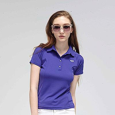 【TOP GIRL】繽紛糖果系簡約POLO衫-紫色