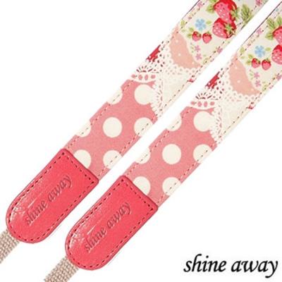shine-away-手工製相機背帶-草莓夫人