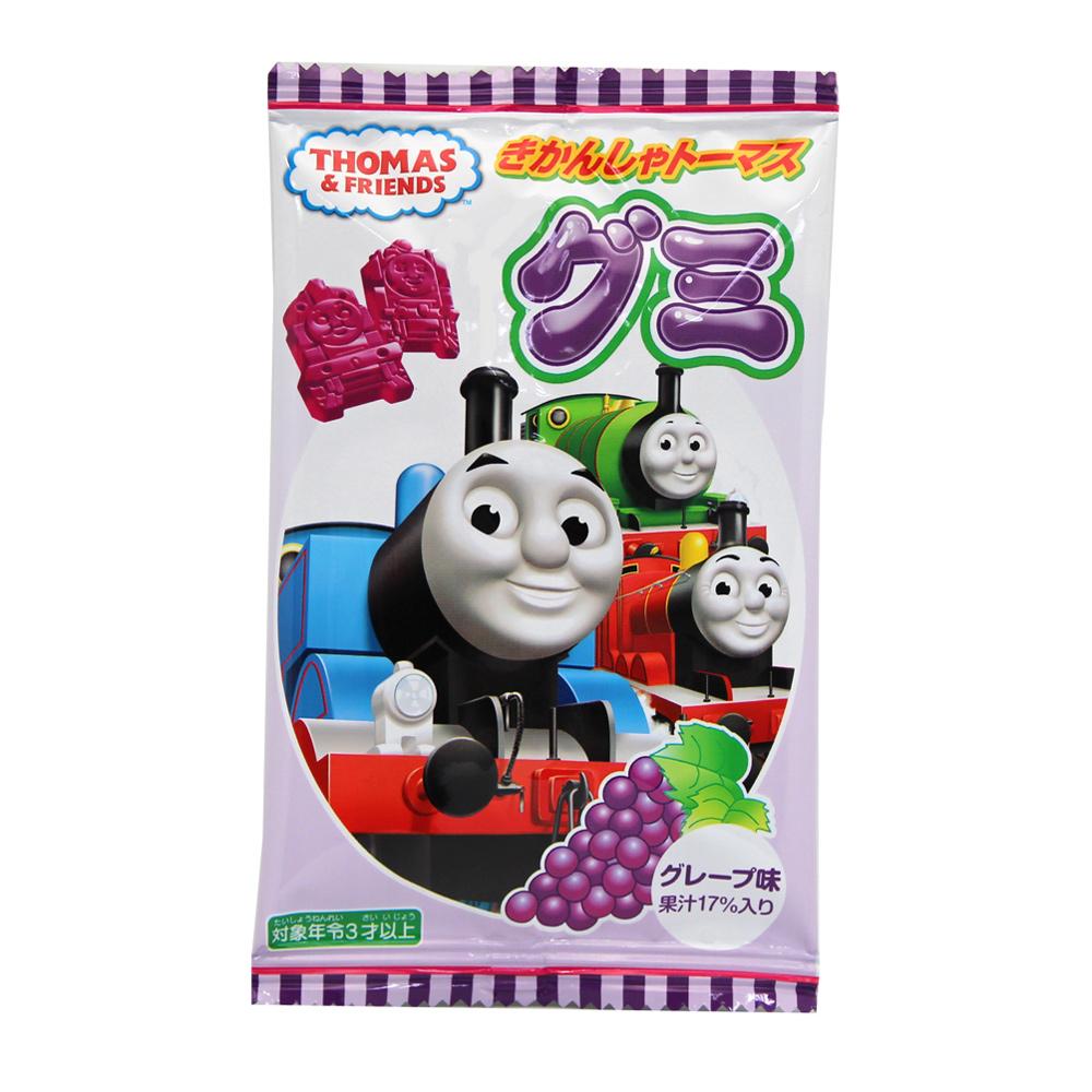 湯瑪士小火車 造型葡萄 QQ軟糖(18gx3包)