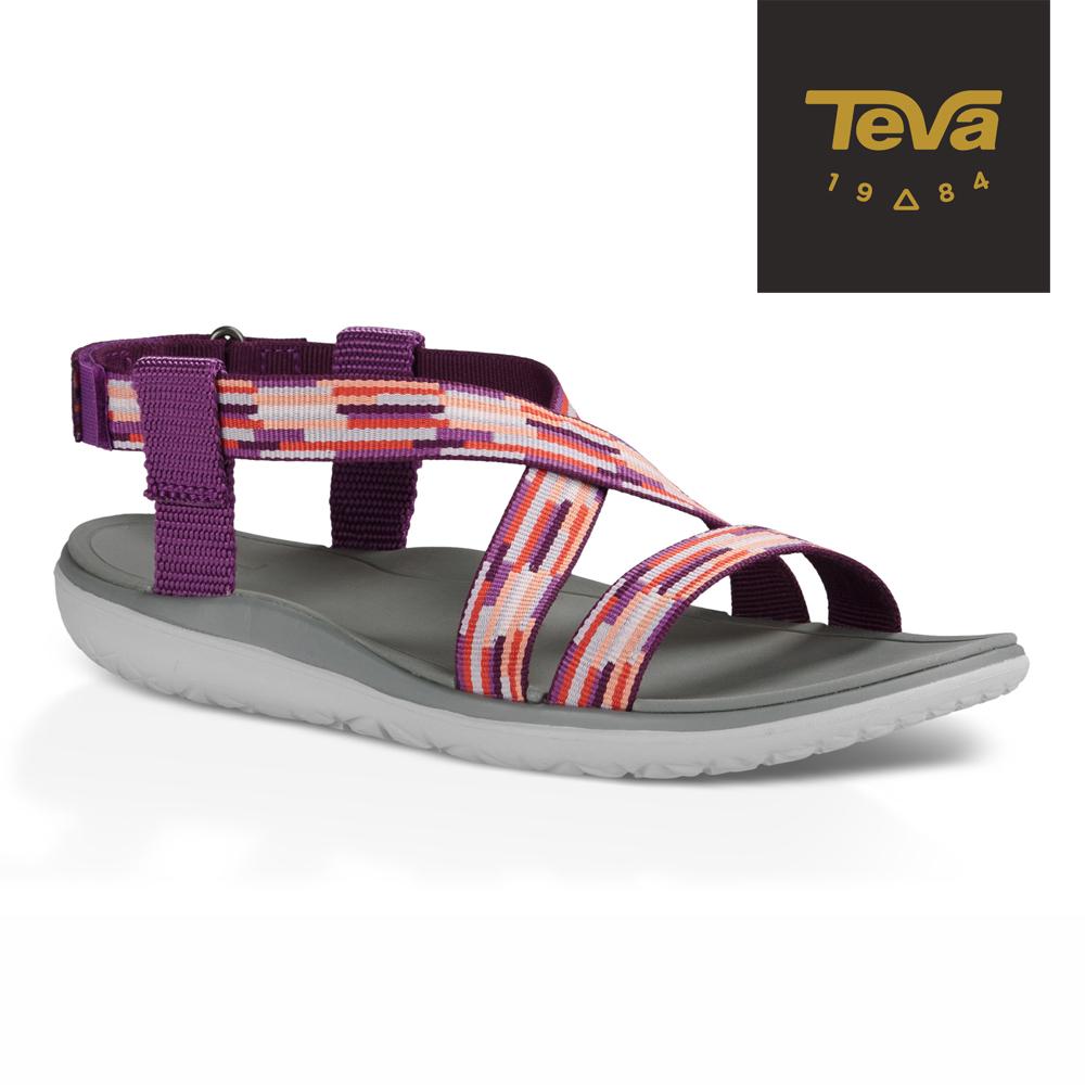 TEVA 美國 女 Terra Float Livia 休閒涼鞋 (紫紅)