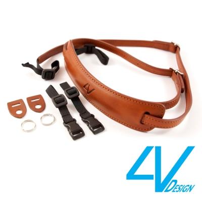 4V LUSSO-MEDIUM系列相機背帶 MP01B-VV2323-棕/棕色(...