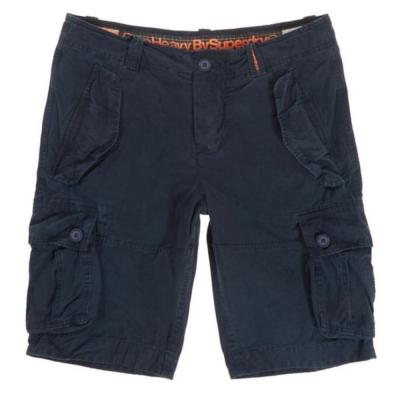 SUPERDRY 極度乾燥 短褲  藍色 382