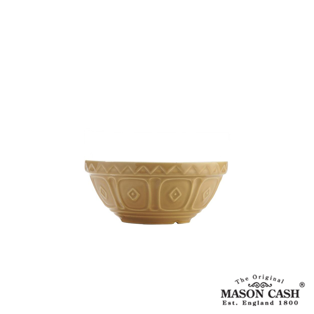MASON 浮雕陶瓷調理盆15CM(黃)