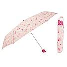 Sanrio 美樂蒂大臉造型握柄晴雨二用折疊傘(小梅日和)