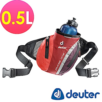 【ATUNAS 歐都納】德國DEUTER單車慢跑路跑隨身水壺腰包0.5L / 39070紅