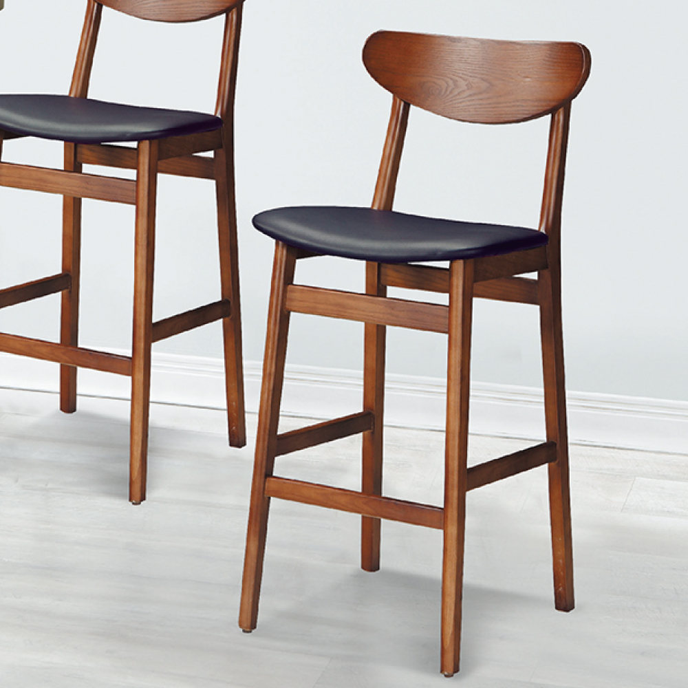 AS-傑西高背吧檯椅-46x42x105cm