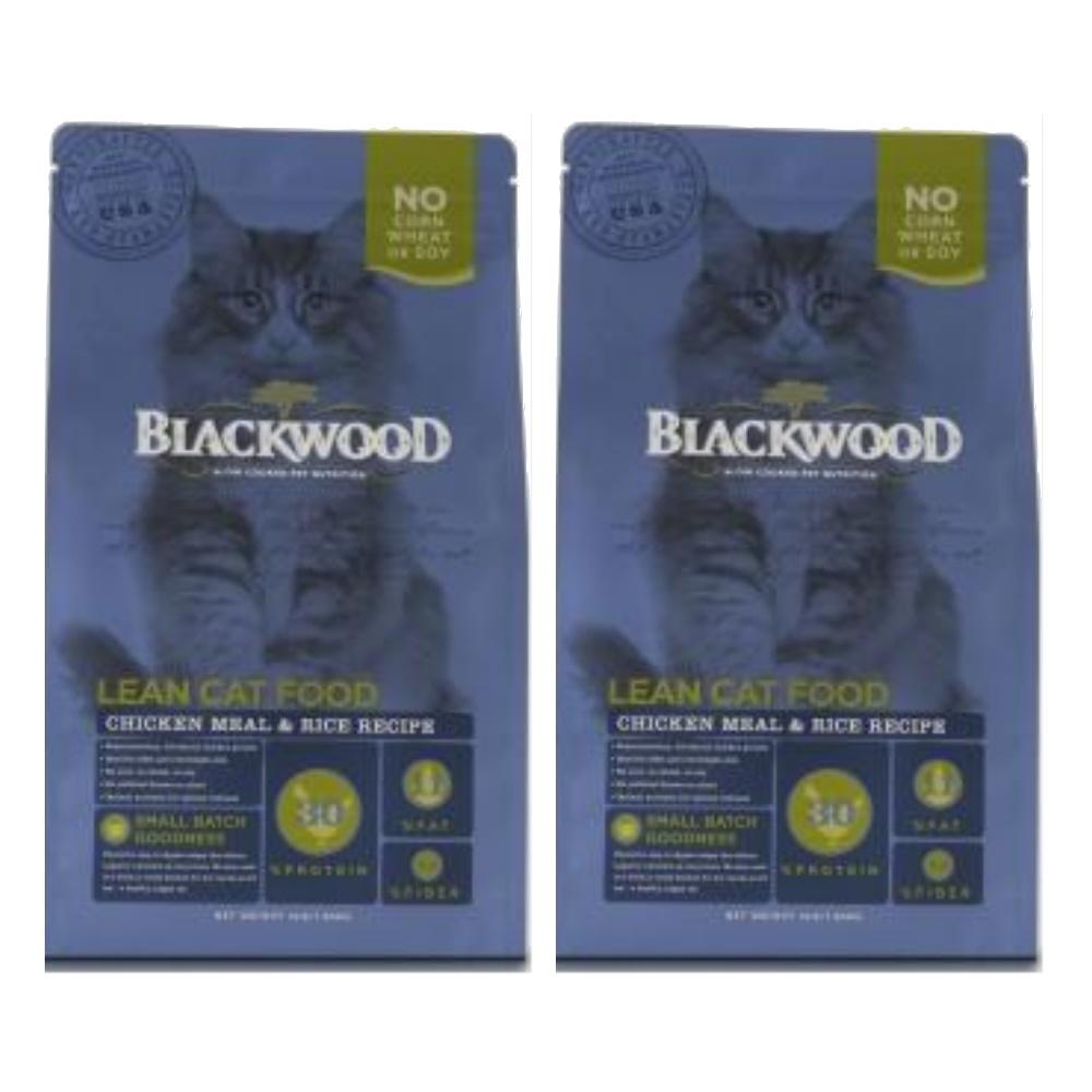 BlackWood 柏萊富 特調成貓低卡保健配方(雞肉+米)4磅 1.8公斤 X 2包
