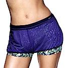 黛安芬-Triaction Cardio機能好動M-EL運動短褲(藍紫)