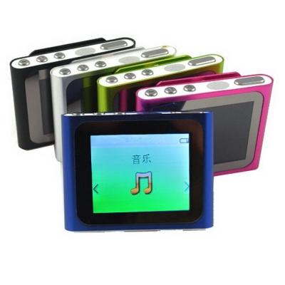 DW-B1810蘋果六代 插卡式MP4隨身聽(加16G記憶卡)(送五大好禮)