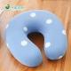 格藍傢飾 水玉涼感舒壓護頸枕(小)-蘇打藍 product thumbnail 1