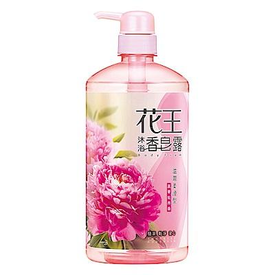 花王 KAO香皂露 滋潤柔滑型 風華牡丹香 (750ml/瓶)