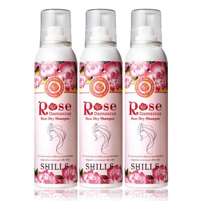 SHILLS舒兒絲 大馬士革玫瑰乾洗髮 180ml三入組
