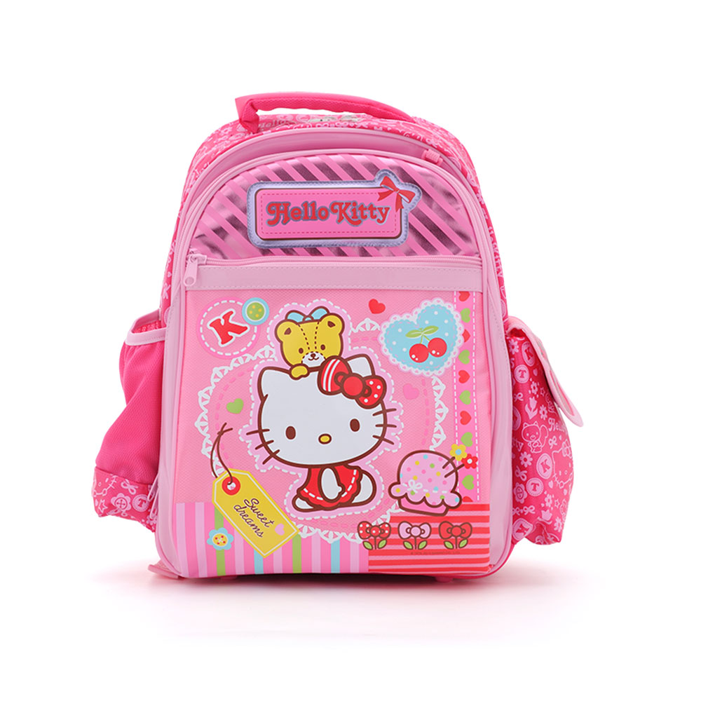 Sanrio HELLO KITTY健康護脊後背書包S(甜蜜小物)