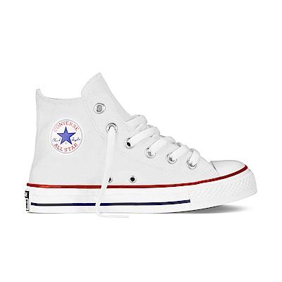 CONVERSE-中童鞋3J253C-白