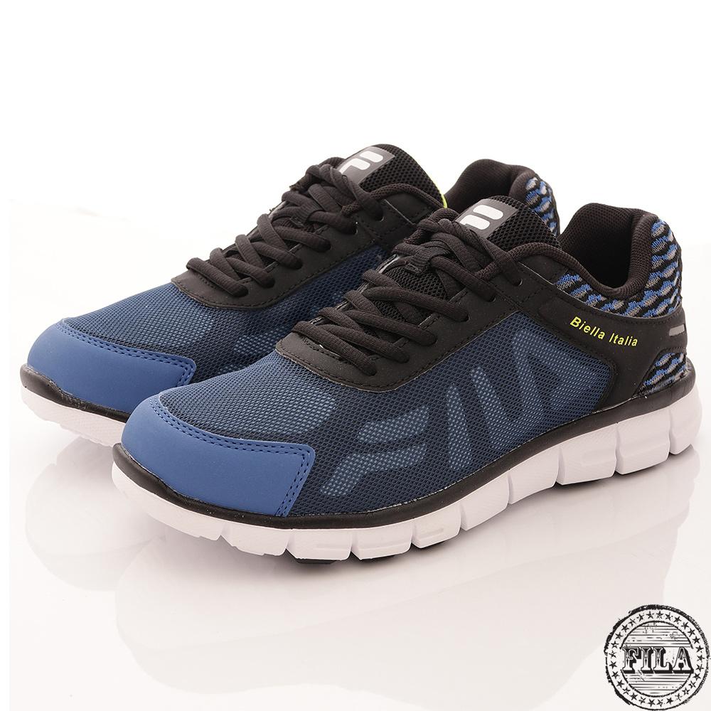 FILA 男鞋 輕量透氣 舒適運動鞋 藍(1-J906R-304)