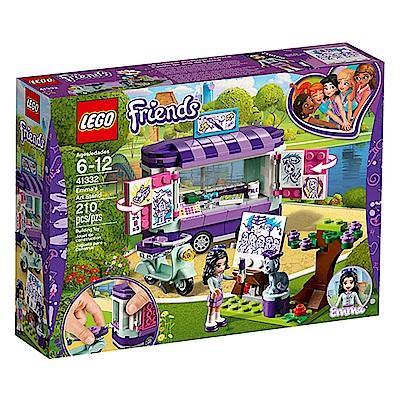 LEGO樂高 Friends系列 41332 艾瑪的藝術小站