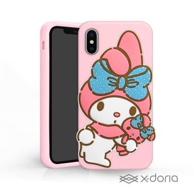 My Melody iPhone X 立體矽膠 鏡子 手機殼