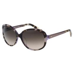 Kate Spade-簡約復古 太陽眼鏡(豹紋色)
