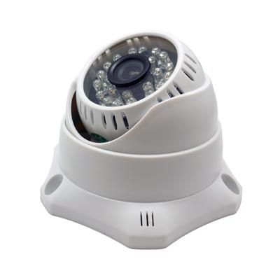 監視器攝影機 - 奇巧CHICHIAU SONY 24燈700TVL高解析平面半球型紅外線