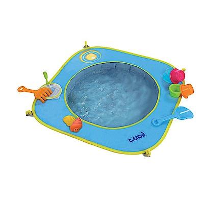 JAKO-O 德國野酷 沙坑泳池-含 13 件玩具組(沙灘戲水/小泳池)