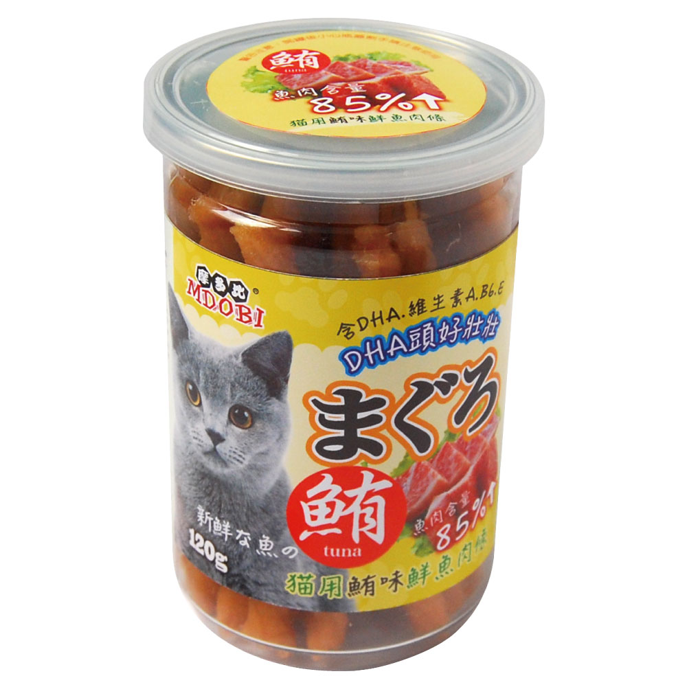 MDOBI摩多比-貓用 鮮魚肉條 鮪魚口味-2罐組