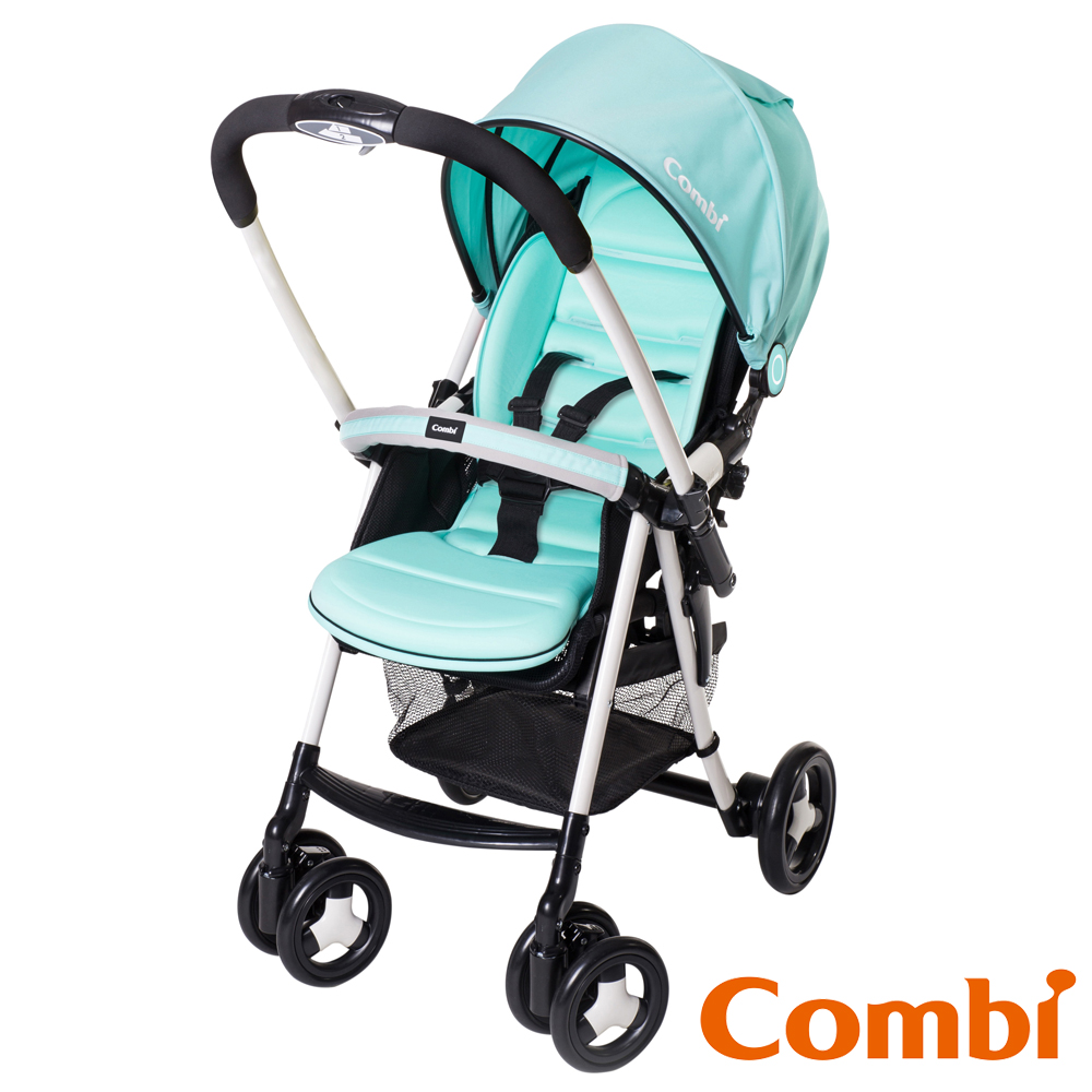 Combi 城市輕休旅雙向嬰幼兒手推車Urban Walker Lite MC 風象綠