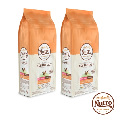 Nutro 美士 全護營養 小型成犬(農場鮮雞+糙米+地瓜)5磅 X2包