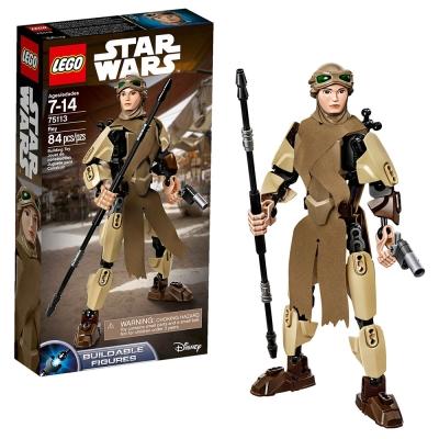 LEGO樂高 電影主題系列 星際大戰人形 75113 芮 Rey