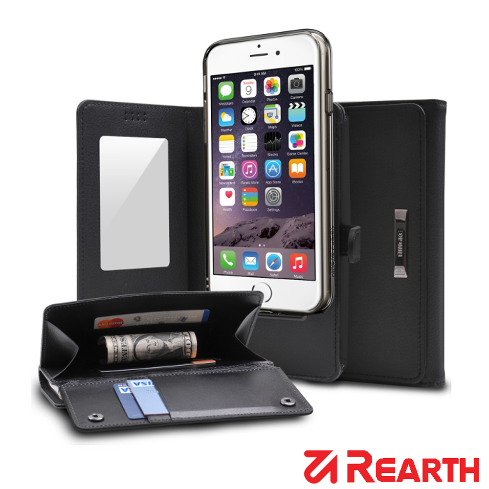 Rearth iPhone 6S/6(Ringke Wallet)皮夾式保護套