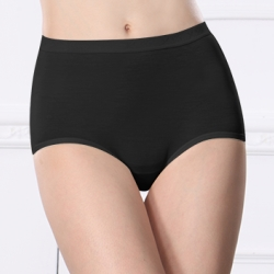 可蘭霓Clany  天絲棉質M-Q(2XL)高腰褲 神秘黑