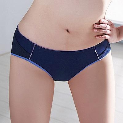蕾黛絲-動氧Bra低腰內褲 M-EL(深動藍)