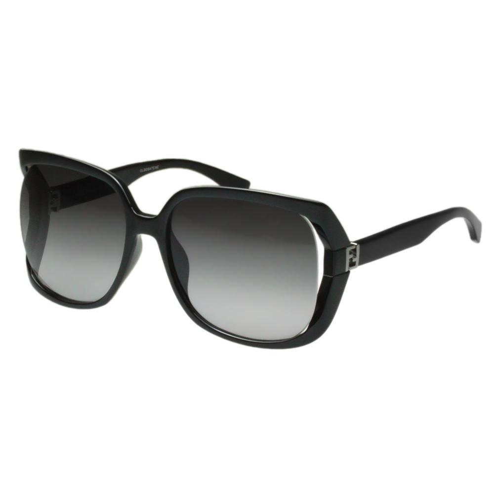 FENDI 時尚太陽眼鏡 (黑色)FF0053S