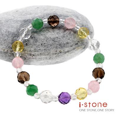 石頭記 水晶之戀-切刻五行開運手鍊