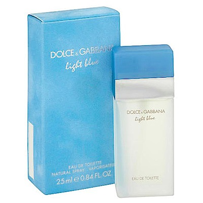 D&G Light Blue淺藍女性淡香水 25ml