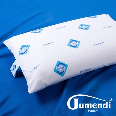 Jumendi-閑靜品味 防蹣抗菌平面透氣乳膠枕-2入