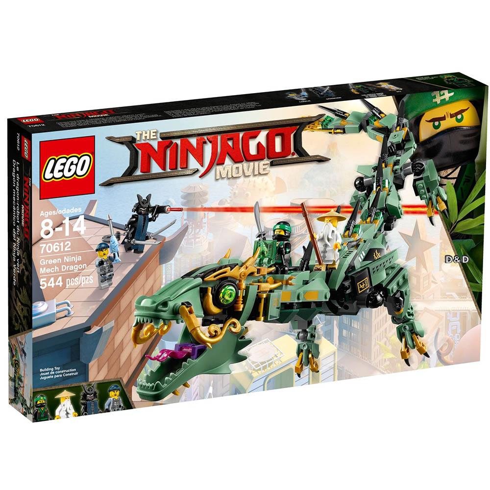 樂高LEGO 旋風忍者系列 - LT70612 綠忍者機甲巨龍