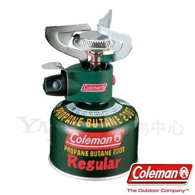 美國-Coleman-PZ-瓦斯爐-附收納盒-電子點火露營爐-登山爐-公司貨
