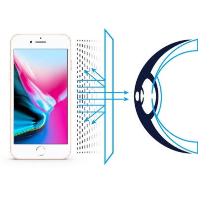 RetinaGuard 視網盾 iPhone8  4.7吋眼睛防護 防藍光保護膜