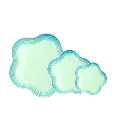 韓國Reeves維思 北歐FIKA陶瓷梅花盤3入組(2色可選)