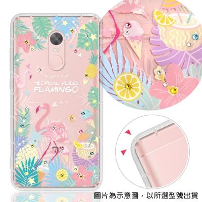 YOURS Xiaomi 小米 紅米系列 彩鑽防摔手機殼-熱帶雨林