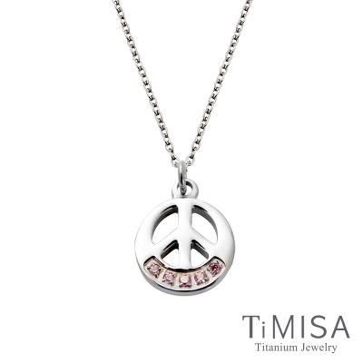 TiMISA 和平風尚(3色可選)純鈦(極細鎖骨)項鍊(B)