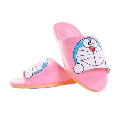 哆拉A夢室內拖鞋 粉 sh9973