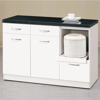 【CASA卡莎】明石家4尺簡約石面收納櫃