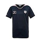 FILA 男抗UV吸濕排汗T恤-黑 1TES-1501-BK