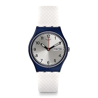 Swatch 原創系列 WHITE DELIGHT 白色活力手錶