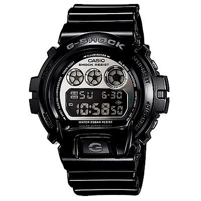 G-SHOCK 重金屬派對版休閒運動錶(DW-6900NB-1)-黑/53.2mm