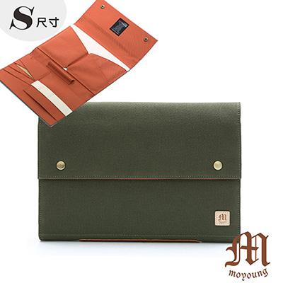 Moyoung 都會美學多功能保護套收納包(小尺寸) 韓潮綠(快)