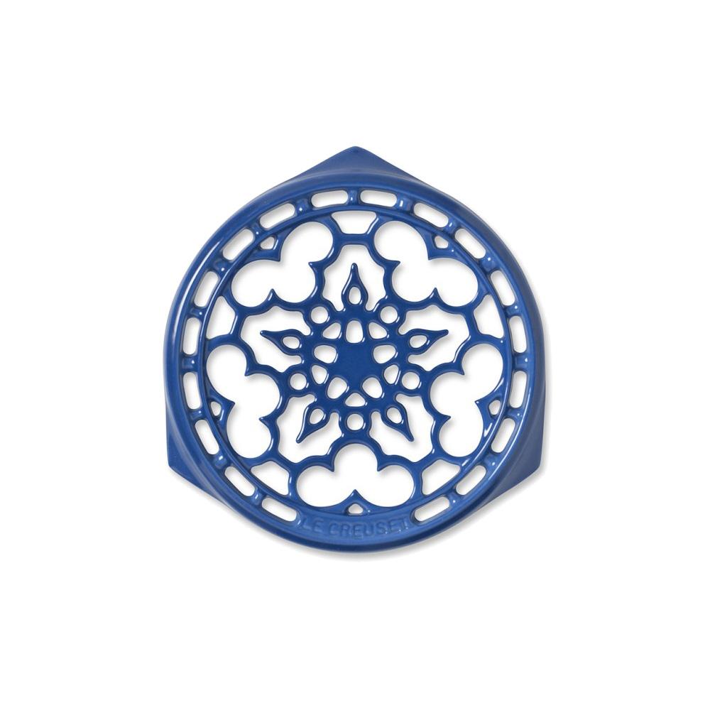 LE CREUSET 琺瑯鑄鐵鍋架 (馬賽藍)