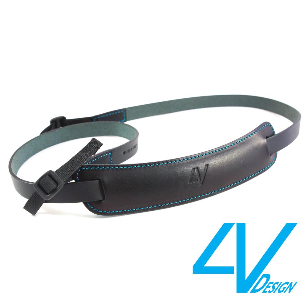 4V CLASSIC MEDIUM系列相機背帶CL-VV0930-BM-黑/青色(M)